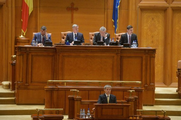 [VIDEO] Guvernul propus de Dacian Cioloș nu a primit votul de învestire.