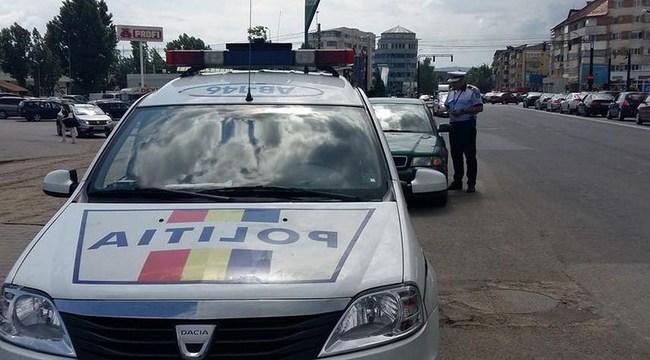 Sute de amenzi pentru mașini parcate în zona pietonală din Timișoara