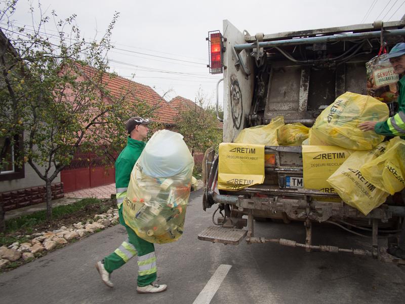 Nou sistem de colectare a deșeurilor în județul Timiș