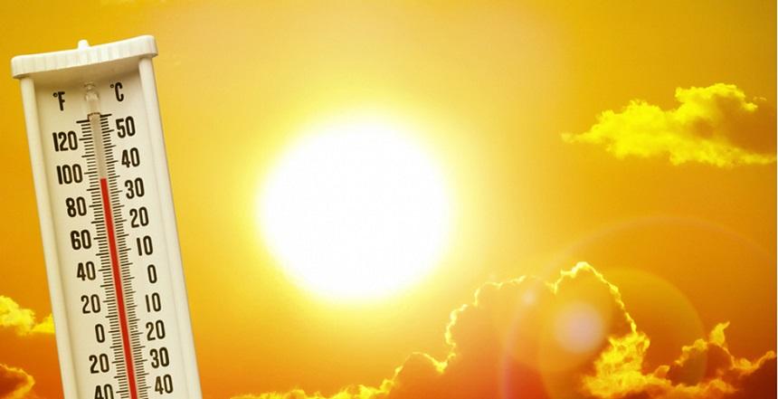 Vreme foarte caldă în vestul țării.