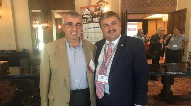 Daniel Gabriel Olariu, invitat în America la conferinţa asociaţiilor profesionale pentru dezmembrarea avioanelor