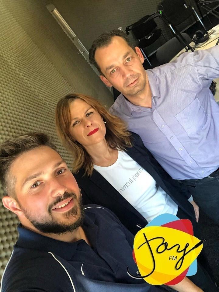 Andrei Neamțu despre sport, motivație, pasiune și Fit 4 Kids la Joy LIVE