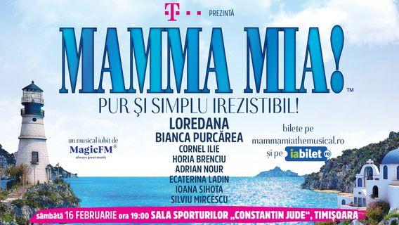 """Mamma Mia la Sala Sporturilor """"Constantin Jude"""" din Timișoara"""