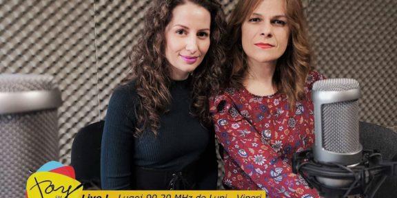 Adelina Tomescu la Radio Lugoj