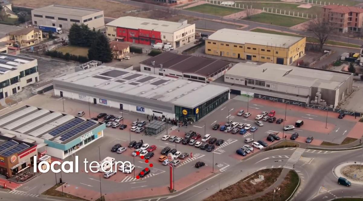 """Oraș în carantină de coronavirus văzut din dronă în Italia: """"Suntem izolaţi"""""""