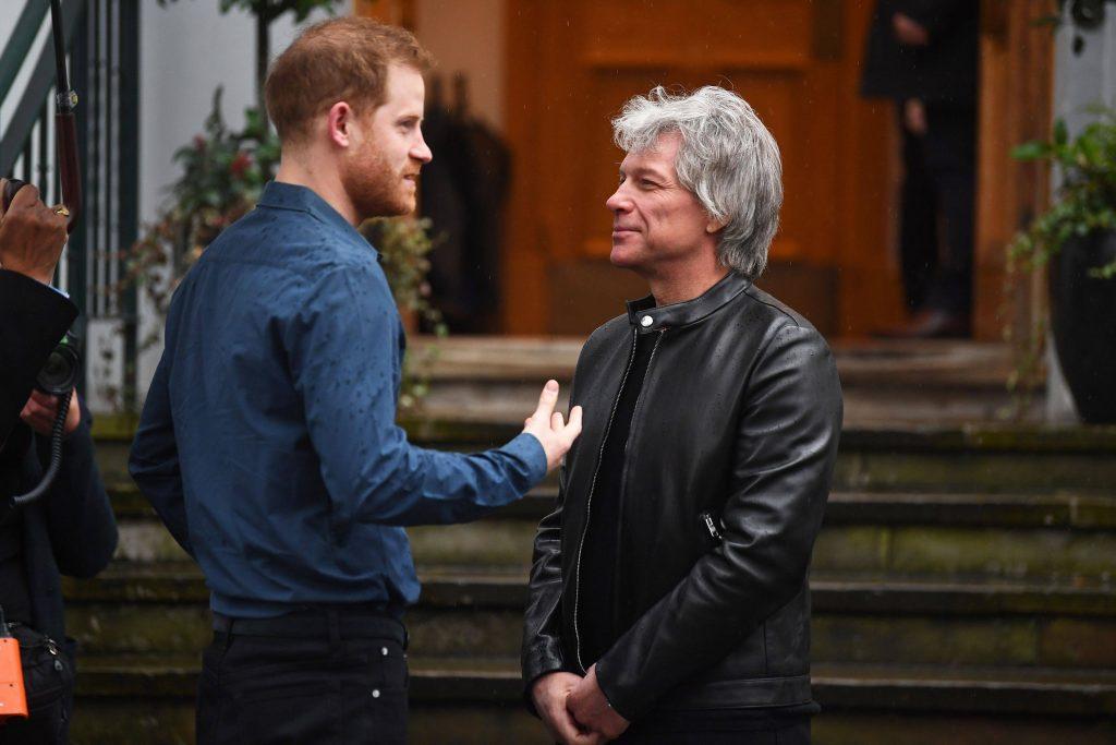 Prinţul Harry a înregistrat o melodie alături de Jon Bon Jovi pentru Jocurile Invictus