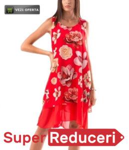 Rochie Model Nou cu motive florale