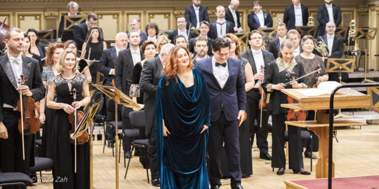 "Concert de excepție Aura Twarowska, la Filarmonica de Stat ""Banatul"" din Timișoara"