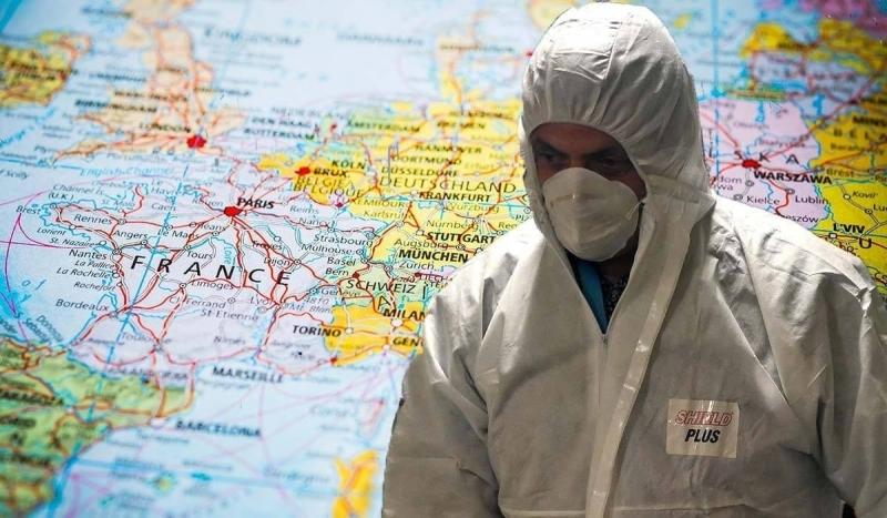 Coronavirusul Inroșește Harta Europei Austria și Croația Au