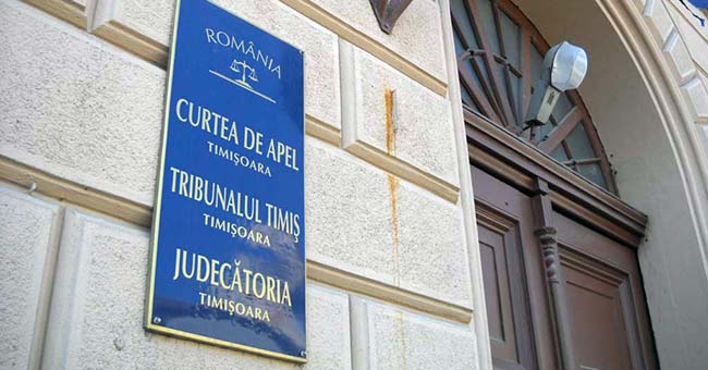O nouă formă de protest a judecătorilor de la Curtea de Apel Timișoara