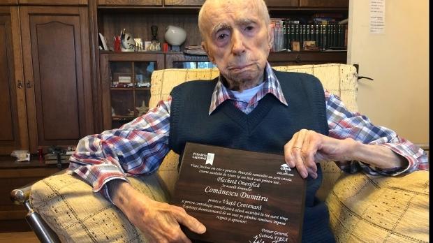 Are 111 ani. Un bucureştean este al treilea cel mai longeviv bărbat în viaţă