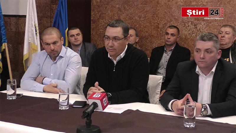 VIDEO – Conferință de presă Victor Ponta PRO România 14 februarie 2020 la Lugoj