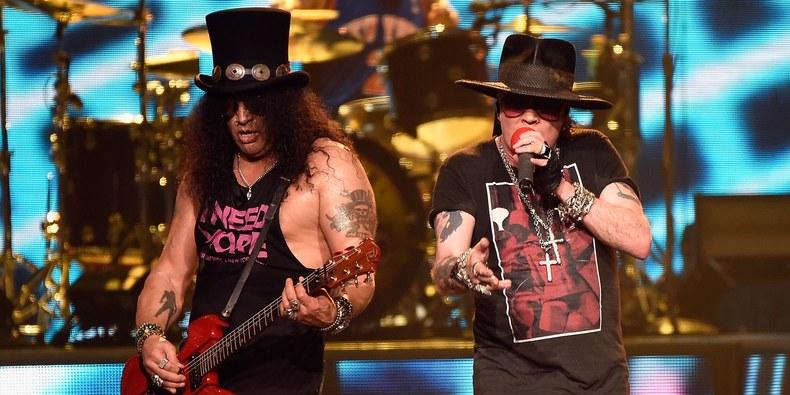 Guns N' Roses, turneu în America de Nord şi Europa