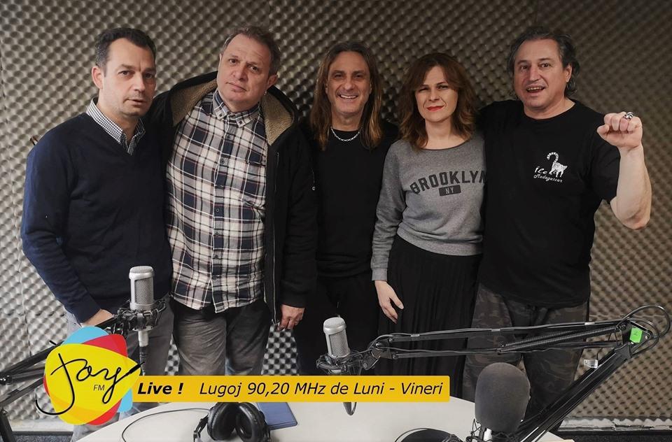 Teo Boar, Vlady Cnejevici și Toni Șeicărescu, azi în studioul Joy Live