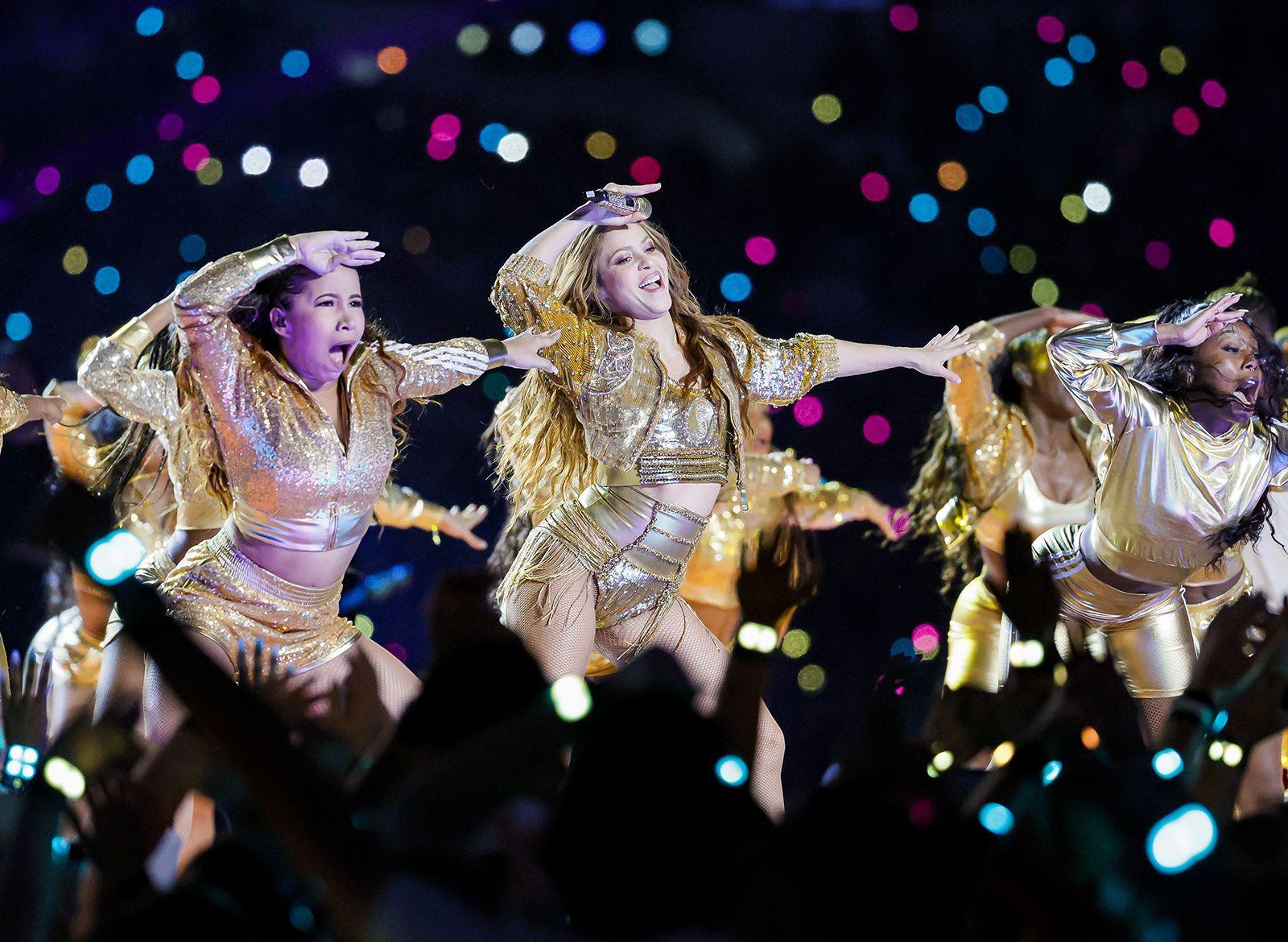 Shakira și Jennifer Lopez, recital în pauza Super Bowl