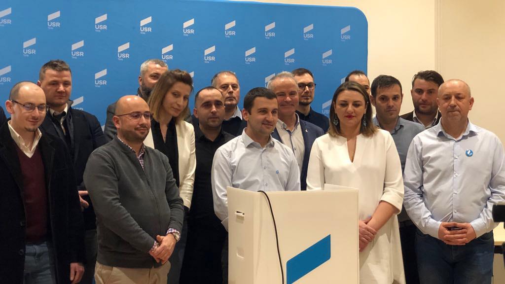 Cristian Moș, desemnat candidatul USR la președinția Consiliului Județean Timiș