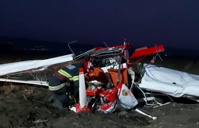 VIDEO – Avion de prăbușit la Șiria.Două persoane au murit