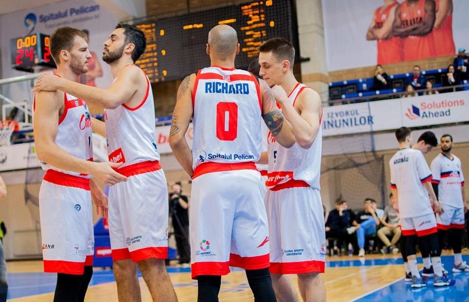 CSM Oradea – SCM Timișoara nu se mai dispută. Toate competițiile de baschet, suspendate