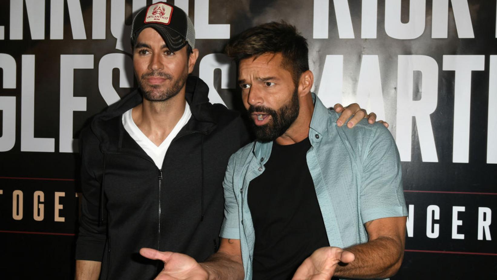 Ricky Martin şi Enrique Iglesias anunţă un turneu comun