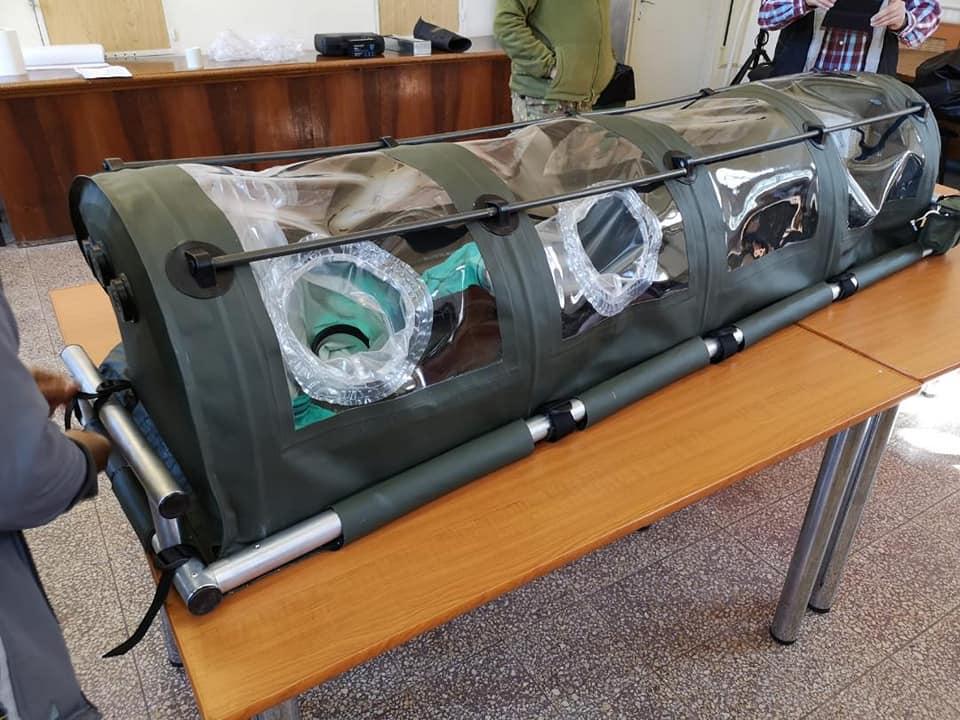 FOTO – Cercetătorii militari români au proiectat o izoletă care va intra imediat în producție