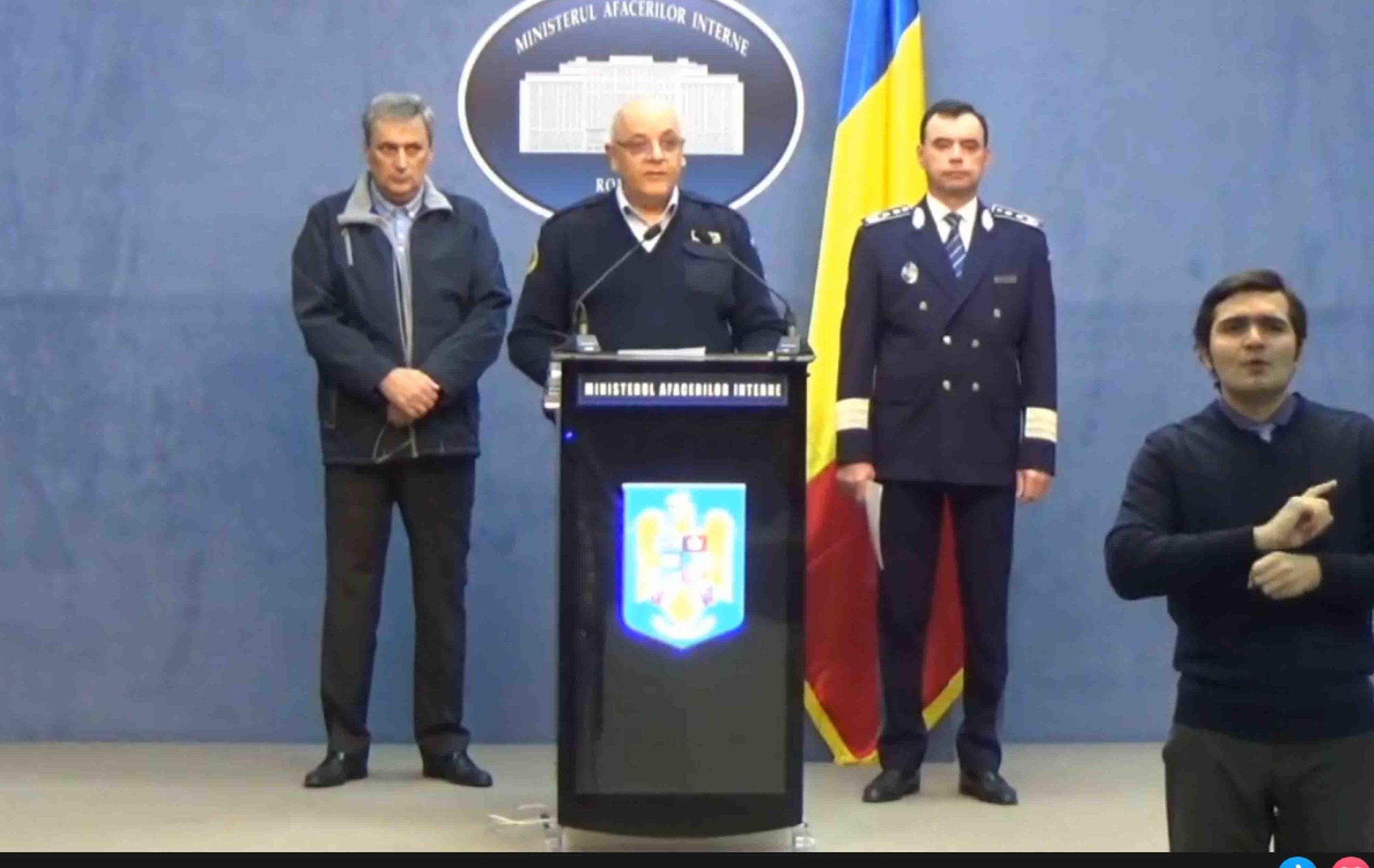 Stare de urgență, în România. Ministrul de Interne, ANUNȚ de ultimă oră