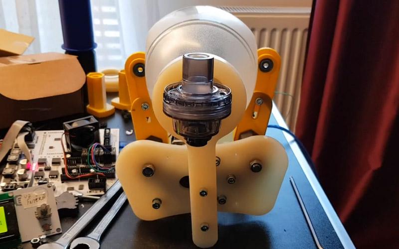 ventilator inventat la timisoara