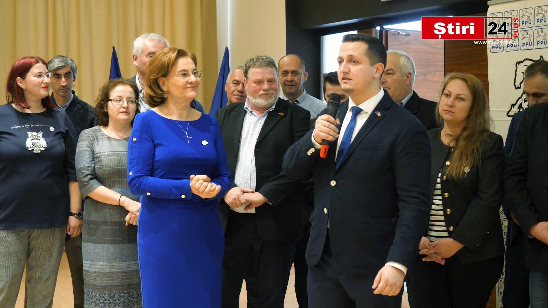 Lansarea candidaților Partidului Puterii Umaniste (social-liberal) pentru alegerile locale din județul Timiș