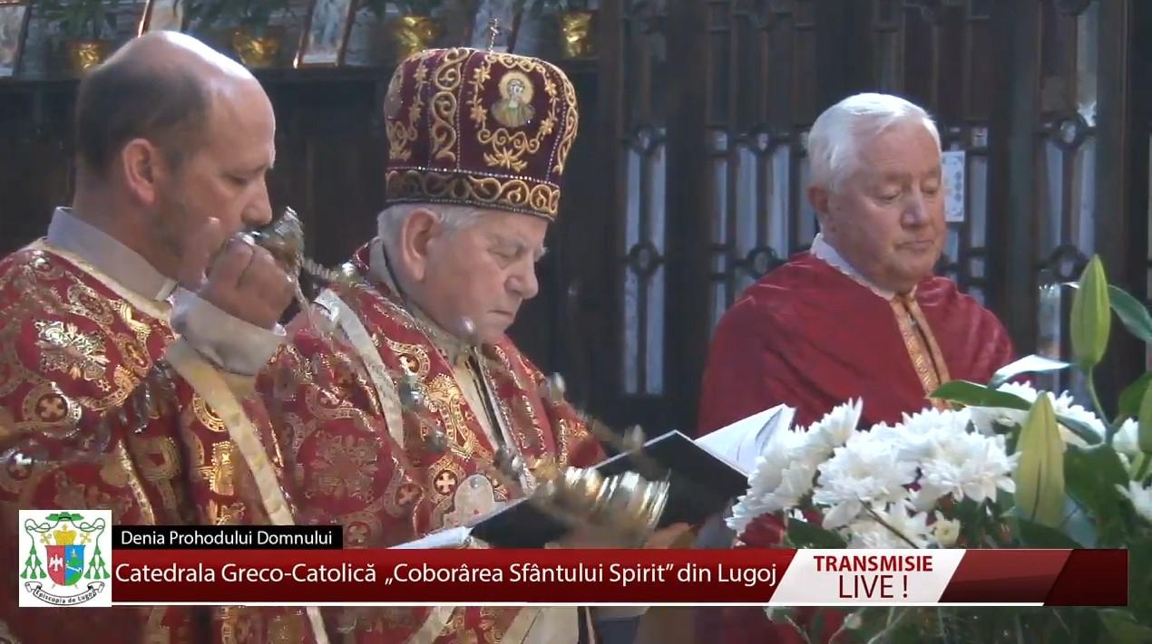 Catedrala Greco-Catolică din Lugoj – Denia Prohodului Domnului 17.04.2020