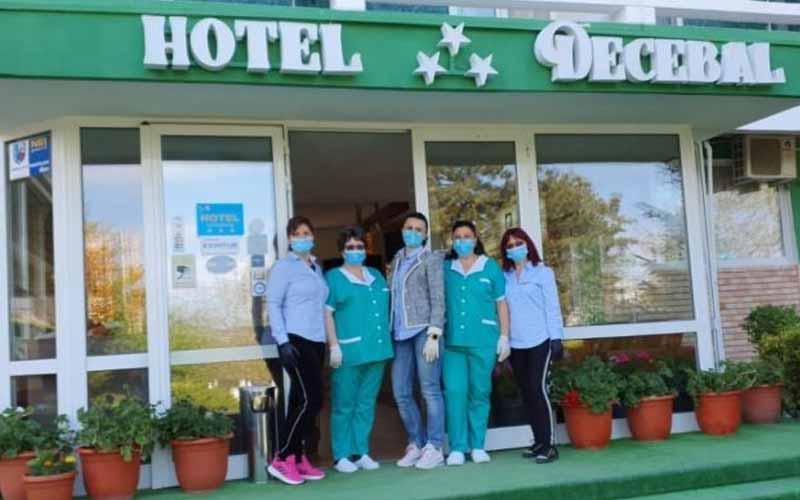Primul hotel cu regim sezonier, deschis pe litoralul românesc.