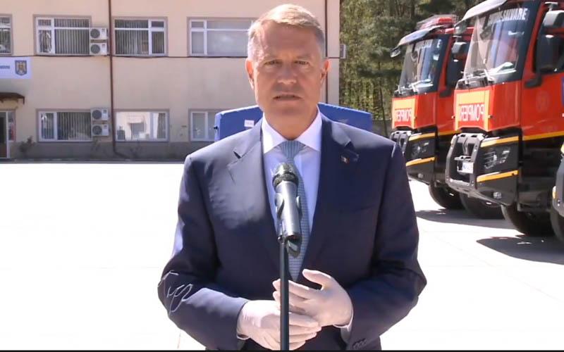 VIDEO Iohannis: Vă spun clar, nu suntem în faza în care putem relaxa restricţiile.