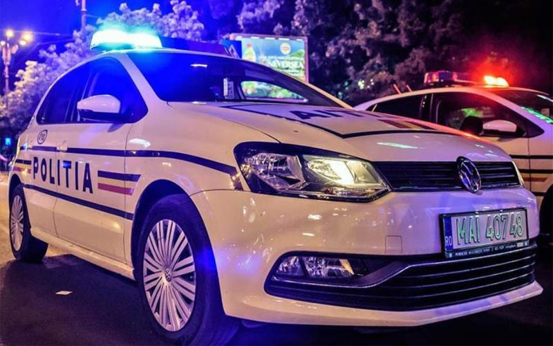 Urmărire ca-n filme, la Lugoj. Drogat și fără permis, prins de polițiști.