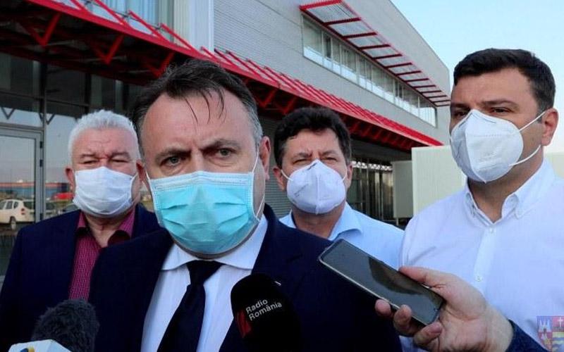 Ministrul Sănătății consideră că Aradul stă mai bine ca în urmă cu două săptămâni