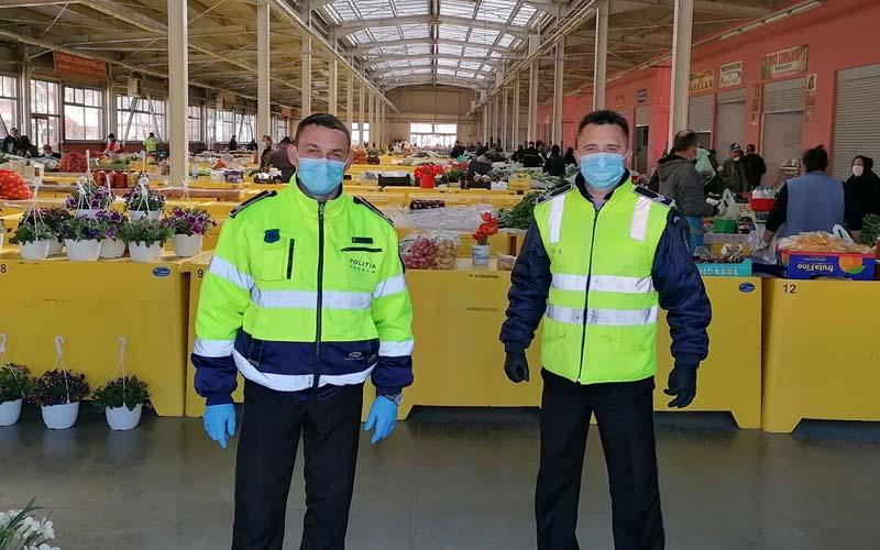Au impus măsuri restrictive în Piața Agroalimentară din Lugoj