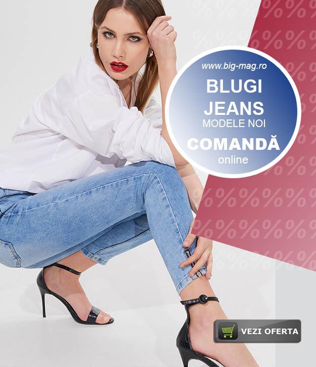 Magazin Blugi si Jeans Dama Femei si Copii big mag