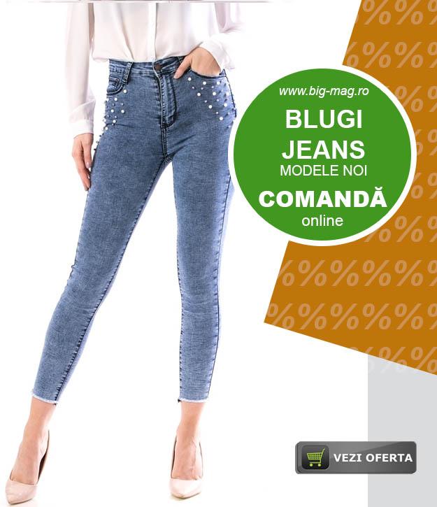 Pantalon Blugi Dama Magazin Big Mag