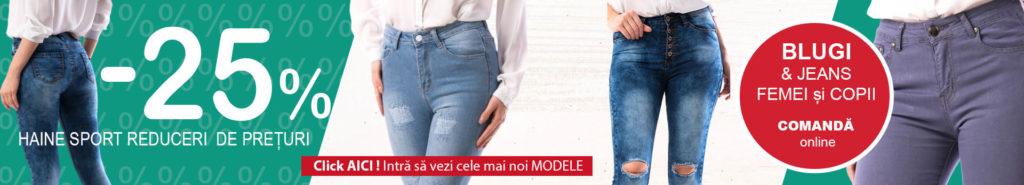 Blugi si jeans femei si copii oferte Magazin Big Mag
