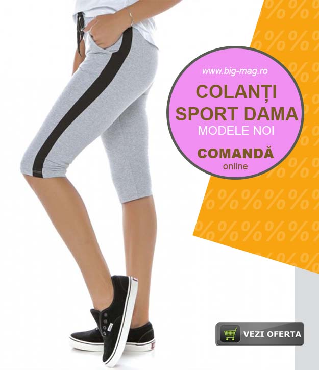 Colanti Bumbac Dama Treisfert Sport Modele Noi