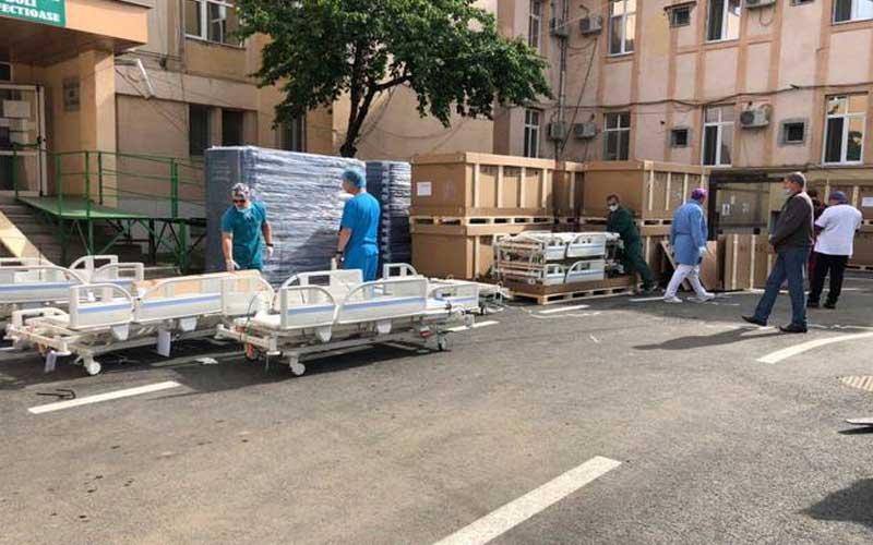 """110 paturi noi pentru Spitalul """"Victor Babeș"""" din Timișoara"""