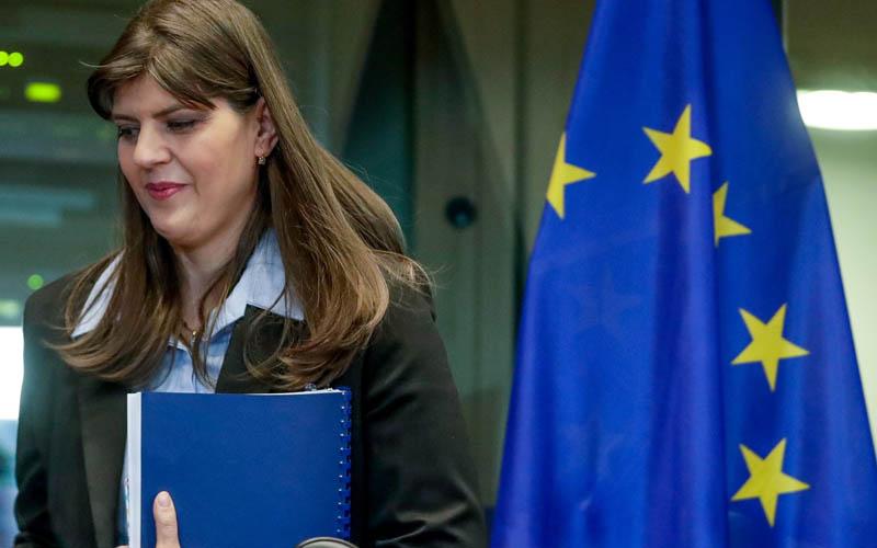 Laura Codruța Kovesi anunță că Parchetul European are deja sute de dosare