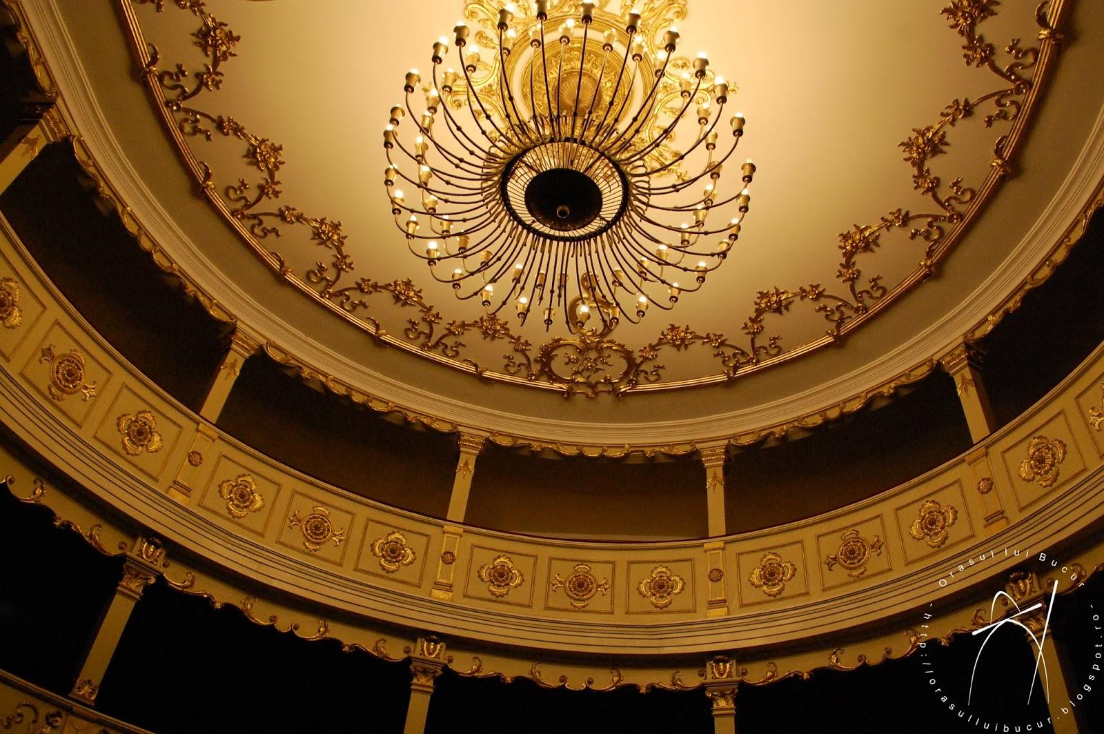 Povestea inedită a teatrului din Banat vechi de 200 de ani, de o frumusețe rară, copie a unui edificiu demolat din Viena