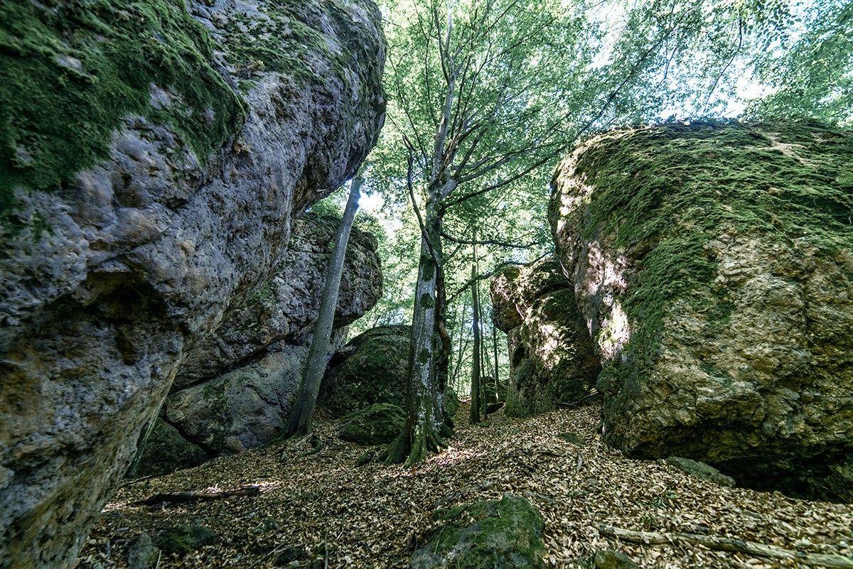 Giganții de piatră din inima Banatului, locul ideal pentru camping sau pentru regăsirea frumuseții naturii