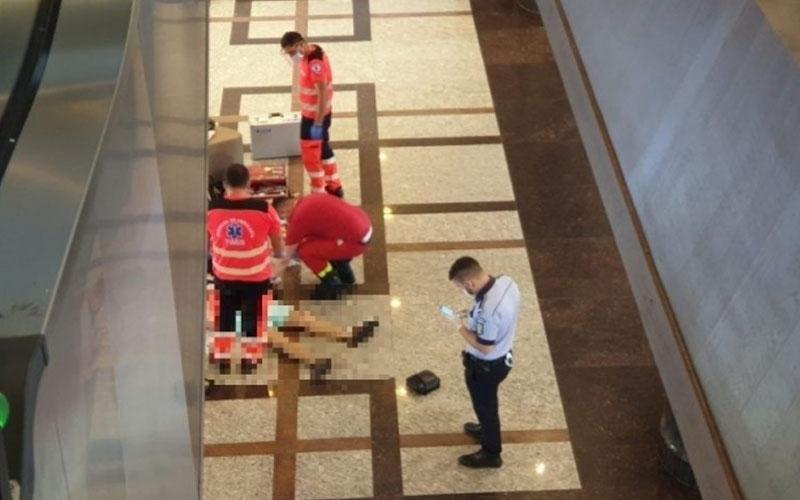 Sinucidere la un mall în Timişoara! Bărbatul în vârstă de 63 de ani a murit