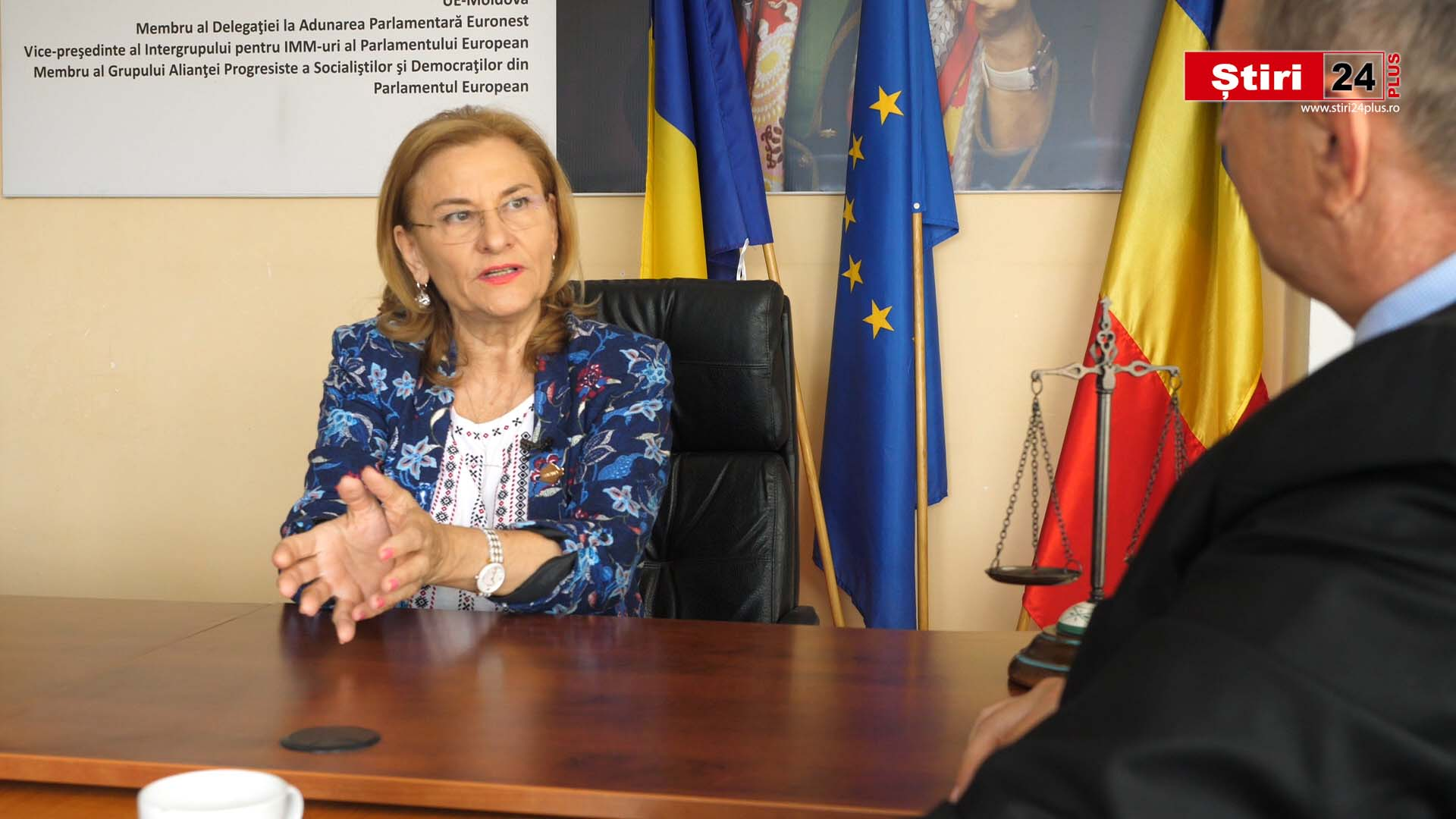 Interviu Stiri24 PLUS cu Maria Grapini – Informații din Parlamentul European
