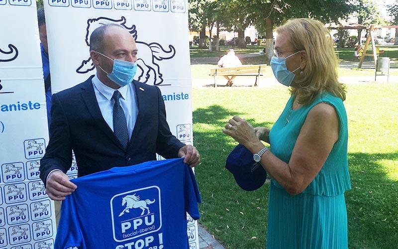 [FOTO-VIDEO] ION TECA, este candidatul de primar la Lugoj din partea PPU-SL