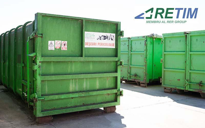 Începe o nouă campanie trimestrială de  colectare a deşeurilor periculoase în zona 0 Timiş