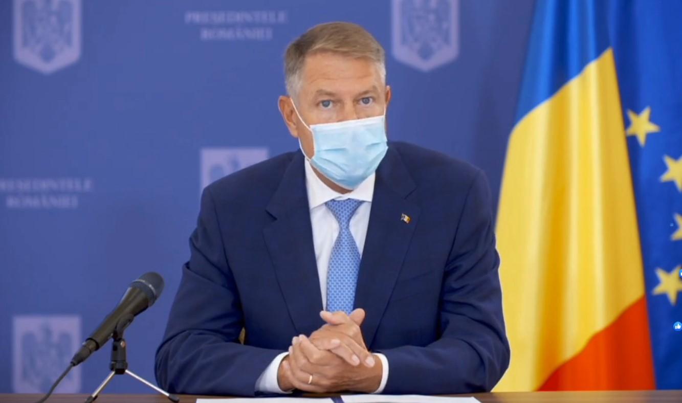 Klaus Iohannis, anunț de ultimă oră pentru toată România.