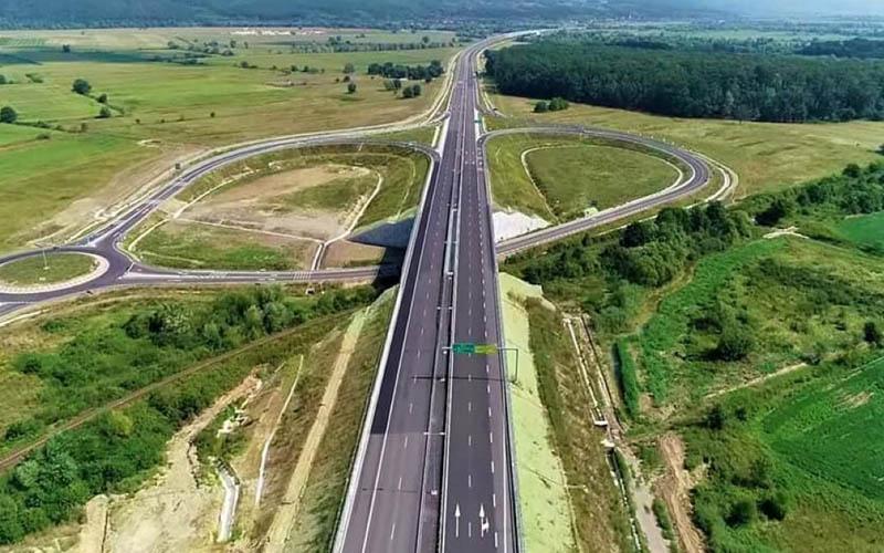 Nod de autostradă de lângă Lugoj, închis timp de 10 zile