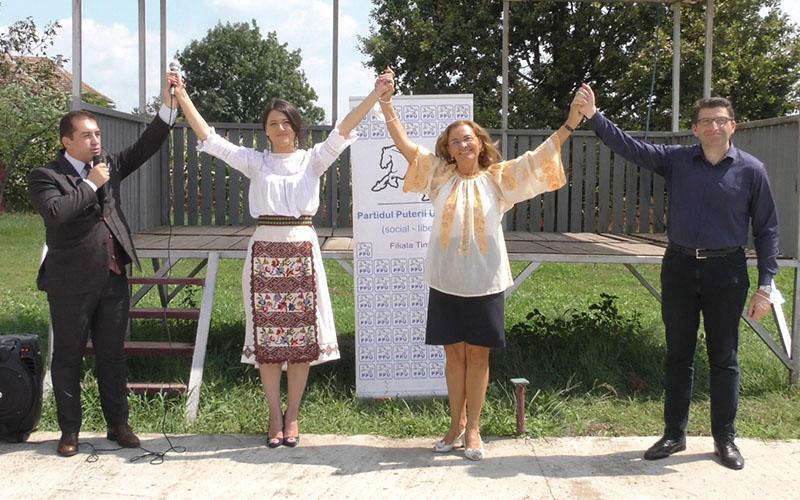 [VIDEO] PPU-SL Timiș a prezentat în Comuna Sacoșu Turcesc, pe cel mai tânăr candidat la funcția de primar din țară