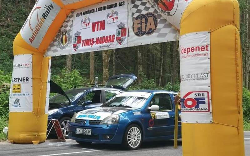 Cupa României la automobilism: Cupa VTM Timiș – Nădrag 2020