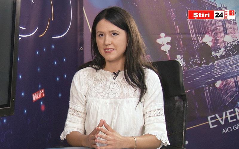 Interviu Știri24 PLUS cu Andra Maftei candidat PPU SL la funcția de Primar la Sacoșu Turcesc